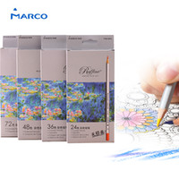 Wholesale Blue Colored Pencils - 24Color Fine Art Drawing Oil Base Non-toxic Colored Pencils Crayons Set For Artist Sketch 100% Brand New High Quality