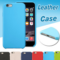 Wholesale Slim Case Iphone Free - For iPhone X Cases PU Leather Case Ultra Thin Slim Shockproof Protective Hard Cover For iPhone X 8 7 Plus 6S 6 SE 5S 5 Free Shipping