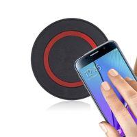 kit de carga sem fios para iphone venda por atacado-Nova Fábrica Universal Q5 Qi Carregador de Carregamento Sem Fio Carregador de Energia Pad para iPhone e para Samsung S6 DHL Livre