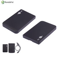 os ide - inch IDE SSD Mobile Disk Box Cases USB HDD Hard Drive External Enclosure hard drive hdd for laptop Windows Mac os Safe