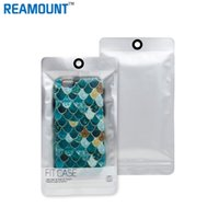 Wholesale Cell Armband Wallet - New Style Sliver Zipper Plastic Retail Packaging Bag Ziplock Cell Phone Case Poly pp Package Bag Hang Hole for iphone case