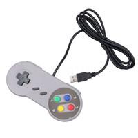 Wholesale Games For Super Nintendo - New Retro Super USB GamePad Controller Classic USB Controller Joypad for Nintendo SNES for MAC Games Controllers windows PC Mac