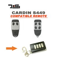 Wholesale Remote Control Opener - Wireless Garage Door opener for CARDIN S449 Remote control Transmitter top quality and free shopping