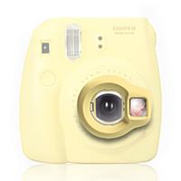 lente de cerca al por mayor-Al por mayor- Instax Mini 8 lente de cámara instantánea primer autorretrato espejo por Takashi - Amarillo (solo la lente)