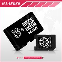 Wholesale Raspberry Pi Sd - Top quality Official NOOBS Preloaded 16GB Micro SD Card for Raspberry Pi 3 Model B 16G TF Card for BPI 3 Banana M2 M1+plus D R1