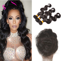 Wholesale Malasian Virgin Hair 14 Inches - 22x4x2 360 Lace Frontal Closures Body Wave Ear To Ear Lace Frontal With Baby Hair Brazilian Peruvian Malasian Indian Virgin Human Hair