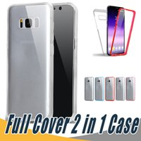 Wholesale Screen Protection For Huawei - 360 Degree Full Body Protection Case PC+TPU Front Back Touch Screen Skin Cover Full Cover Body Case For Huawei P9 P10 Lite Plus P8 Lite 2017