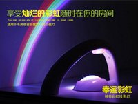 Wholesale Light Projectors For Kids - Rainbow Night Lamp Colorful Wave Projector Led Light Creative Luminous Bedside Lamps Aurora Master Streamline Lights For Kid 21 5sl D R