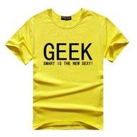Wholesale Big Bang Theory Sheldon T Shirt - The Big Bang Theory Geek T shirts Men Women 2016 Sheldon Cooper Printed t shirt Short Sleeve Casual Couple Geek Tops TEE