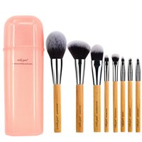 Wholesale Deluxe Makeup Brush Set - vela.yue Deluxe Makeup Brushes Set Synthetic Face Cheek Eyes Lips Beauty Tools Kit with Gift