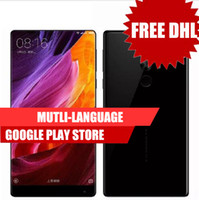 Wholesale Huawei Fhd - Original Xiaomi Mi MIX 6.4 Inch Full Screen Snapdragon 821 6GB RAM 256GB ROM 2040x1080P FHD Ceramics 4400mAh 4g Lte Phone VS P8 Lite Huawei
