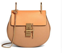 Wholesale Cloe Bag - 2017 Hot Sale Popular Fashion Brand Design Women Genuine Leather Cloe Bag High Quality Real Cowskin Shoulder Bag Small Chain Bag
