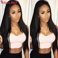 New Style Mongol Camboyano Peruvian Brazilian Hair Extensions Straight Human Hair Weave Bundles Cheap Remy Hair Wefts 4pcs Frete Grátis