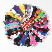 Wholesale Wholesale Athletic Shorts For Men - Hot 20 Colors christmas plantlife socks for men women Summer cotton skateboard hip hop compression socks Short maple leaf sport mens socks
