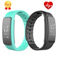 Wholesale 2017 New IWOWN i6 HR Heart Rate Monitor Smart Band Wristband with Fitness Tracker Sport Smartband Bracelet pk xiaomi mi band