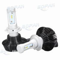 Wholesale Auto Led Light Replacements - 2pcs Replacement Auto Light Source Car LED Headlamp Kit H7 50W 8000LM LUMILEDS Auto Headlight Bulb White 6500K 12V 24V