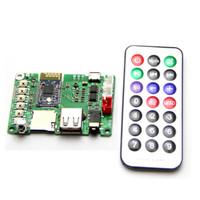 Wholesale Infrared Board - Dual 3W Bluetooth Amplifier Board V4.1 Stereo BK3254 Bluetooth Module FM Radio TF Card U Disk  Infrared Remote Control