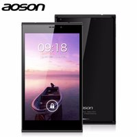 Wholesale Tablet 3g Built 5mp - Wholesale- Aoson M706T 7 inch phone call tablet dual sim card Built-in 3G 1G+8G Quad Core Camera 5MP Bluetooth GPS Android Tablet PC