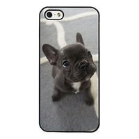 Wholesale Iphone Case Adorable - Adorable French Bulldog Puppy Cute Phone Cases For iPhone 6 6S Plus 7 7 Plus 5 5S 5C SE 4S Back Cover