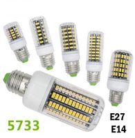 Wholesale E27 Led Bulb Corn 4w - SMD 5733 Lampada LED Lamp E27 E26 E14 gu10 G9 110v 220V 3W 4W 5W 7W 8W 10W Spotlight Bombillas LED Bulbs Lamparas LED Light Christmas lamps
