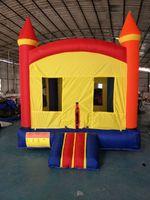 Wholesale Inflatable Slides For Kids - Bouncer House Inflatable Bouncer Castle Jump Castle Inflatable Slide Castle Modle Toy For KIds