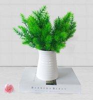 ingrosso piante di pino-Pianta artificiale verde pino decorazione decorazione della casa erba artificiale ufficio e tabella display spedizione gratuita AP002