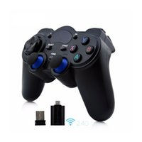 Wholesale Wireless Controller Ps2 Free Shipping - Free shipping Android Controller 2.4 G Wireless Gamepads Universal Joystick For Android Smart Phone For PC Tablet For PS3 Consol