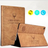 Wholesale Auto Flip - Leather Case For Ipad Mini Air Pro 1 2 3 4 5 6 7 Pro 10.5 Luxury Housing for Apple With Auto Wake Up+Sleep Flip Cover Tablet Holder GSZ380