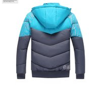 Wholesale Padding Feathers - NK Winter Mens Jackets Coats Outerwear Cotton Padded Jacket Lover's Sport coat Hooded Padded Size M-XXXL 3 Colors 2017 Winter Hot Selli