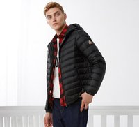 Wholesale Thin Down Jacket Hooded - 2017 autumn short hooded thin men's fashion men's down jacket B70131001