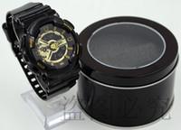 Wholesale champagne glass box - Hot 2016 Newest Men GA110 Sports Watches Waterproof wristwatches Luxury Digital Watch with box