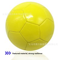 Wholesale foam footballs inchs solid color green blue yellow