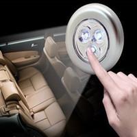 Wholesale Led Emergency Vehicle Light Wholesale - Car 3 touch led emergency lights Car trunk lamp The car light reading lamp On-board vehicle