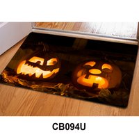 Wholesale Christmas Decoration Doormat Bathroom Coral Velvet Mats Super Absorbent Doormat Snow Non slip Mat cm DHL