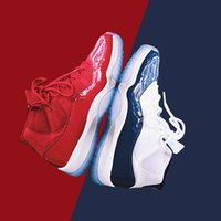 Wholesale Pink Women Trainers - (with box) air retro 11 Gym Red Chicago Midnight WIN LIKE 82 UNC Space Jam men women Basketball Shoes 11s sports Trainers Sneakers