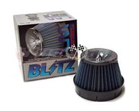 blitz air filter - BLITZ SUS Power Core Type LM Intake Filter Universal fitment inch Neck H W Blue in stock and ready to ship PH2016