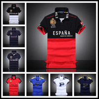 Wholesale Black Air Force Ones - 2017 New Air Force One Fashion Polo T Shirts Mens Short Sleeve 2Color M L XL XXL 100% Cotton Embroidery NYPD Summer Slim T-Shirt