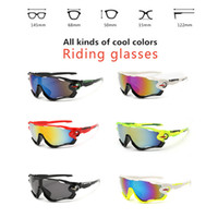 Wholesale Resin Wholesale - High Quality Fashion Sports Sunglasses Polarized Women Men Interchangeable 3 Lens Jawbreaker Cycling Eyewear With Box