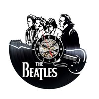 Compra Idee Regalo Del Vinile-The Beatles Theame Decor Vinile Orologio da parete Fan Regalo per bambini Decorazioni per la casa Idea Art Art Party