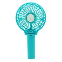 Wholesale Wind Netting - Free shipping Outdoor rechargeable USB mini fan portable handheld electric fan portable fan large wind Fans
