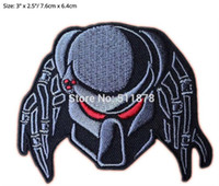 """Wholesale Alien Comic - 3"""" PREDATOR ALIEN ARNOLD Movie TV Series Embroidered iron on patch cosplay transfer COMICS APPLIQUE party favor"""