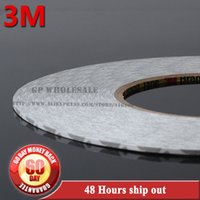 Wholesale Screen Roll 3m - Wholesale- 2016 50M roll (2mm~25mm) Original 3M 9080 High Adhesive Tape High Temperature Resist for LED Light Strip Phone LCD Touch Screen