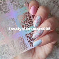 Nail art stencils uk free uk delivery on nail art stencils jv206 stickers 813cm 12 tips sheet irregular triangle pattern nail vinyls nail art manicure prinsesfo Images