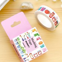 Wholesale m Show Bottle Washi Tape Masking Tape Post It Japanese Stationery School Supplies