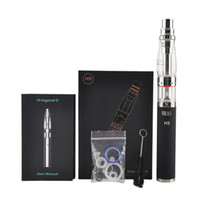 Wholesale H5 Dhl - Beyang H-legend-5 Shisha Starter Kit Legend H5 E Liquid Water Filter Installation E Hookah Vaporizer Black White SS DHL Free Shipping