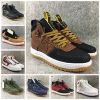 Wholesale Hot Shoe Arm - 2017 Hot Sale Special Field air 1 One Men Women High Boots Casual Shoes Sneakers Unveils Utility Boots Armed Classic Racer Shoe
