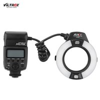 Wholesale Camera Mark Ii - Viltrox JY-670C Professional Macro Ring Flash Light Lite 5500k Speedlite for Canon 600D 650D 700D 1100D 6D 7D 5D Mark II Camera