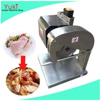 Wholesale Meat Blades - 110v Chicken Cutter Chicken Cutting Machine Commercial Poultry Meat Cutting Machine Poultry Cutting Saw for Slaughtering House Meat Shop