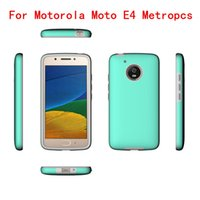Wholesale gel covers for cell phones online – custom For Motorola Moto E4 Metropcs Case MOTO E4 Boost in Shockproof Armor Hard Frame TPU Gel cell phone Cover Cases