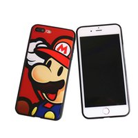 Wholesale Animal Cartoon Protection - For Iphone 6 6s 7 Plus Fashion Cartoon Cute Animal Protection Case For Iphone 5 5S SE Opp Bag
